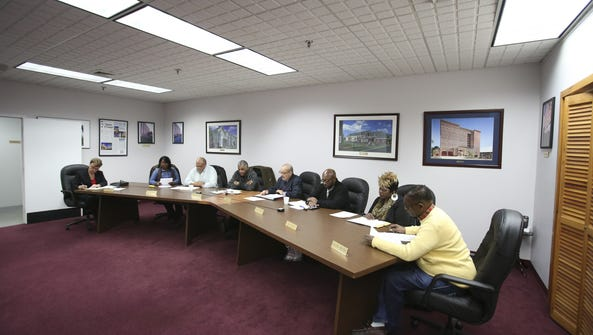 The Wilmington Housing Authority board meets at its