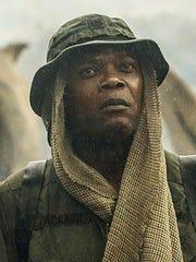 "Samuel L. Jackson appears in a scene from, ""Kong: Skull"