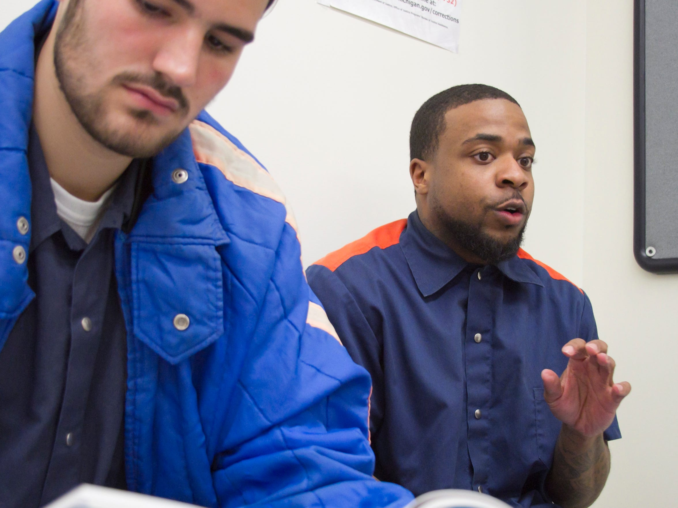 Learning at the Cooper Street Correctional Facility
