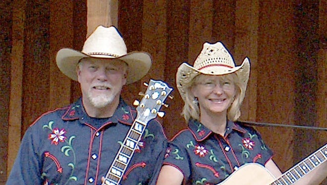 Brad and Bonnie Jo Exton are the Ramblin' Rangers. They will perform ibn concert at 6 p.m. Wednesday at Luna Rossa Winery, 3710 W. Pine St., off the Old Frontage Road.