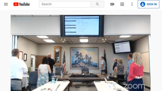 As the McPherson Board of Education has met without public in the room and moved to online meetings, it has restricted public comment n those meetings.