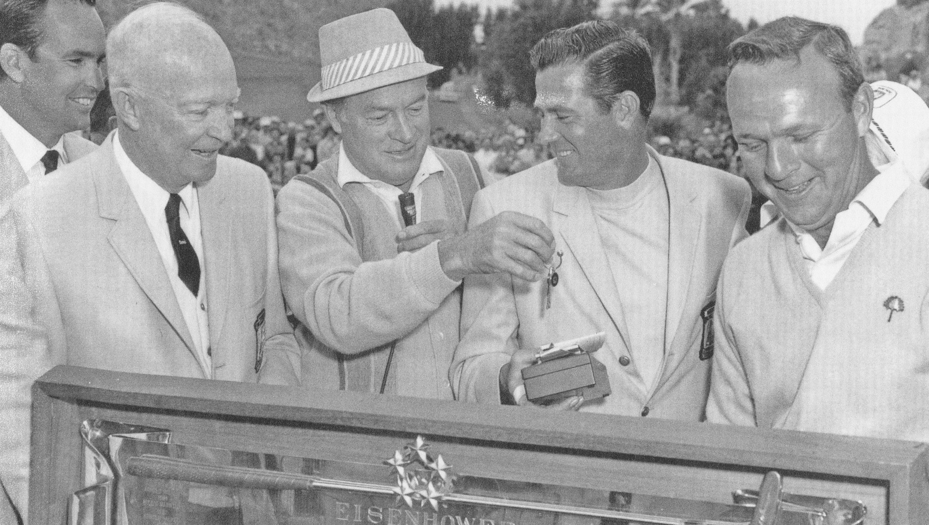 Arnold Palmer Pictures His Life In Photographs: Photos: Arnold Palmer In The Desert