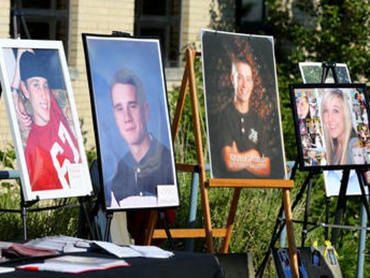 Overdose deaths in Northern Kentucky
