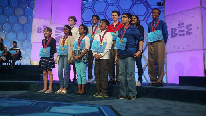 Ten spellers advance to the championship finals of