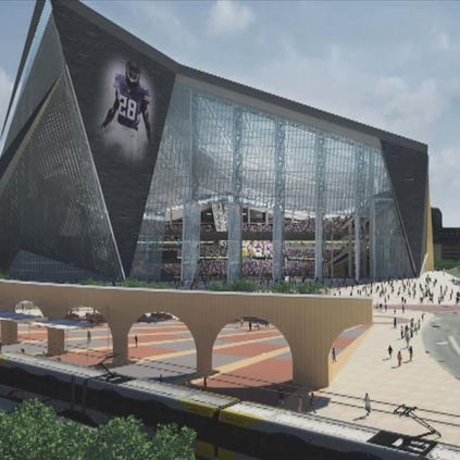 Minnesota Vikings Stadium rendering