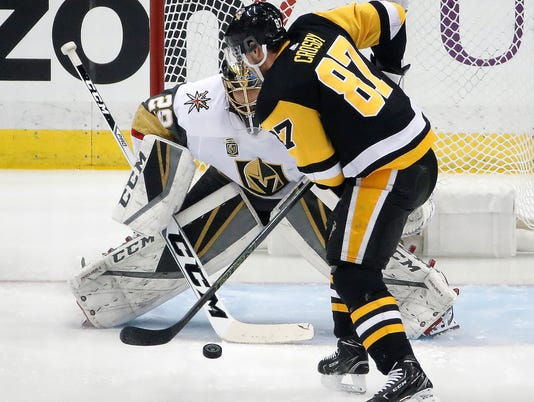 AP GOLDEN KNIGHTS PENGUINS HOCKEY S HKN USA PA