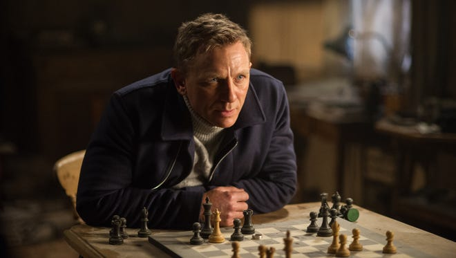 """In this image released by Metro-Goldwyn-Mayer Pictures/Columbia Pictures/EON Productions, Daniel Craig appears in a scene from the James Bond film, """"Spectre."""""""