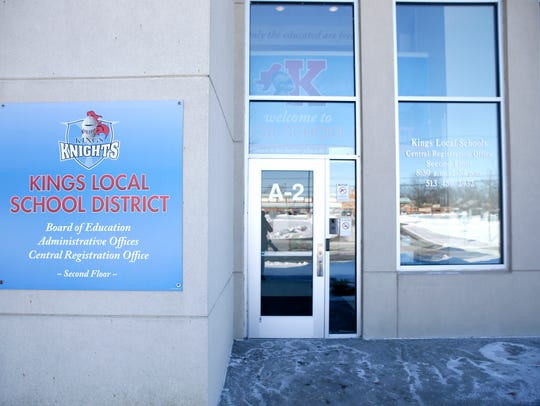 Kings Local School District offices. Photo shot Thursday