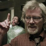 "Michael Parks plays a man who is obsessed with walruses in the horror movie ""Tusk,"" opening Friday."