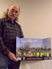 Curt Musselman, who is chairman of the Gettysburg National Military Park's Employee Wellness Team, submitted a diorama made with PEEPS marshmallow candy for the Healthy Parks, Healthy Peeps: A National Park Service Centennial Diorama Contest. The contest is part of a wellness campaign that aims to promote the role parks and public lands can play in achieving a healthy lifestyle.