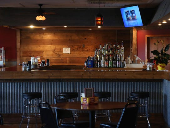 Inside the recently opened The Co-Op bar on Tuesday,