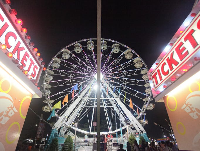 Scene at the Kentucky State Fair in Louisville, KY. Aug. 17, 2014