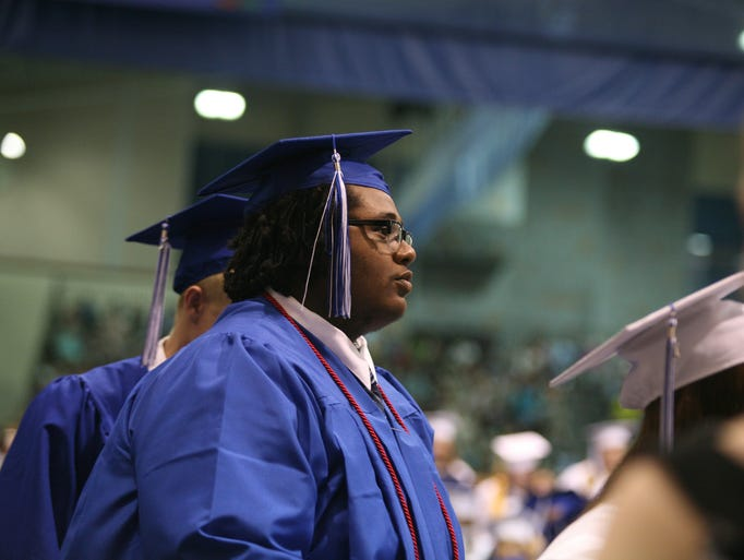 Fort Defiance High School held its graduation ceremony at Eastern Mennonite University in Harrisonburg on Saturday, June 7, 2014.