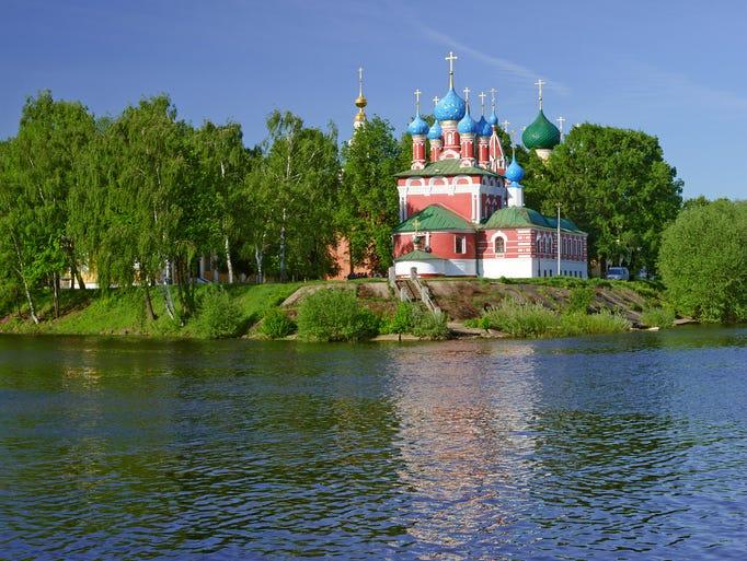 Church of Dmitry on Blood in Uglich, Russia,