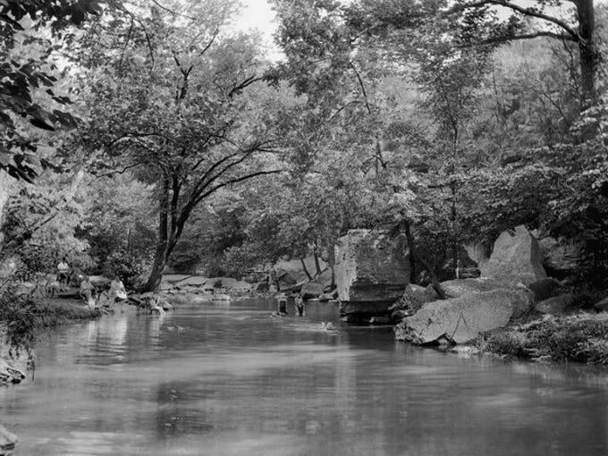 Big Rock in 1926.