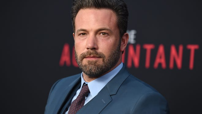 "Ben Affleck arrives at the world premiere of ""The Accountant"" at the TCL Chinese Theatre in Los Angeles on Oct. 10."