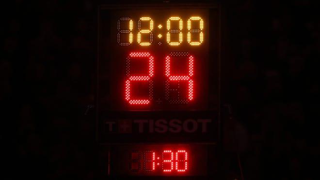 Adding a shot clock is a popular request among high school basketball fans.