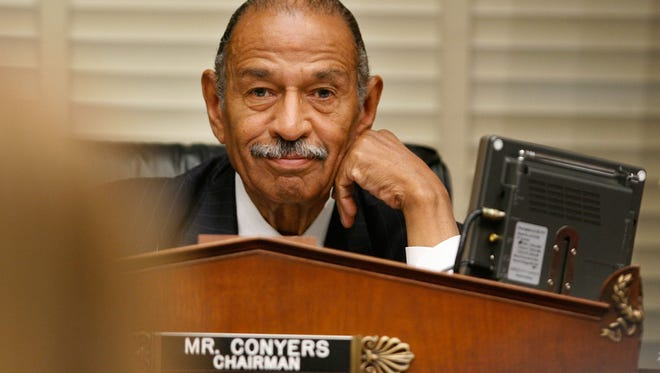 From accusation to resignation, colleagues went from being warily supportive, urging caution while an investigation by the Ethics Committee was completed to outright calls for Conyers' resignation.