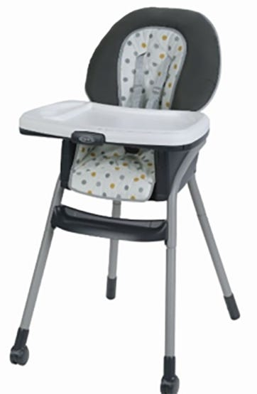 Graco Recalls Table2Table High Chairs From Walmart After 5 Kids Are Injured
