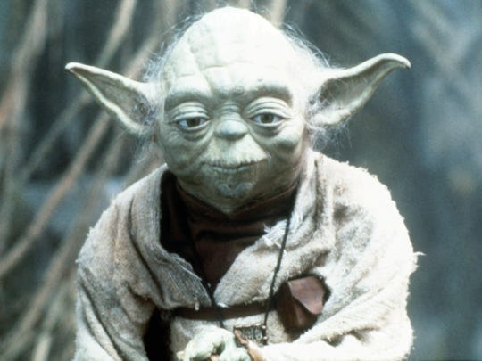 Yoda, but baby not. Credit: Lucasfilm