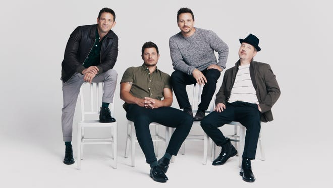 The boy band 98 Degrees is performing at the Grand Falls Casino Resort this weekend.