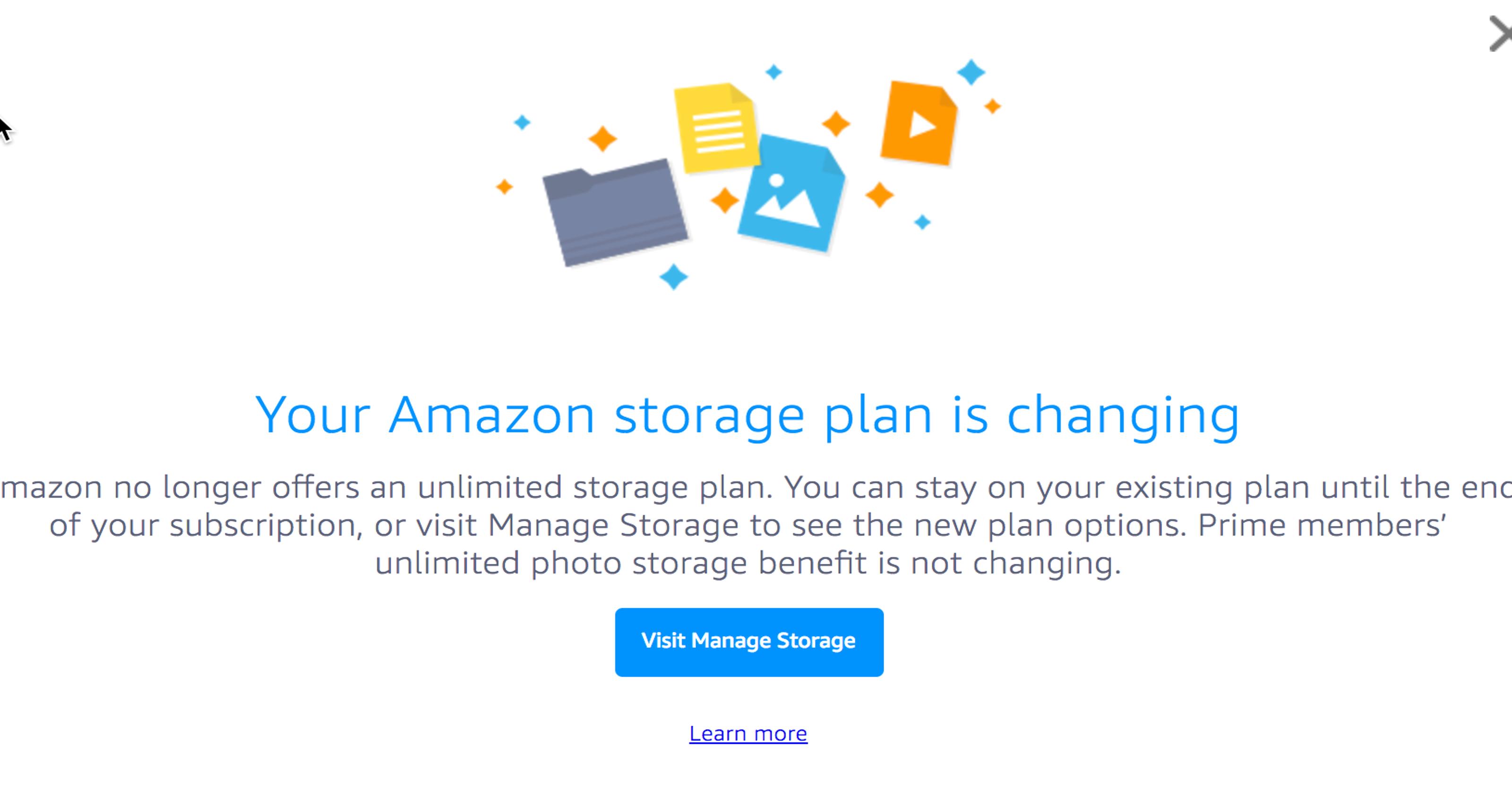 how do you use amazon prime photo storage