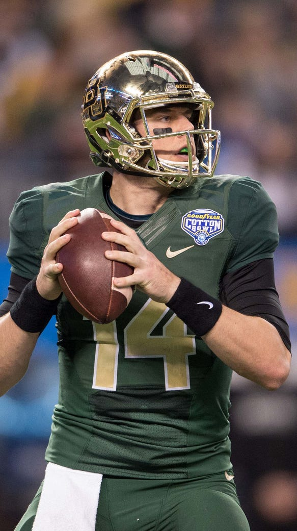 Bryce Petty put up prolific numbers in his two years
