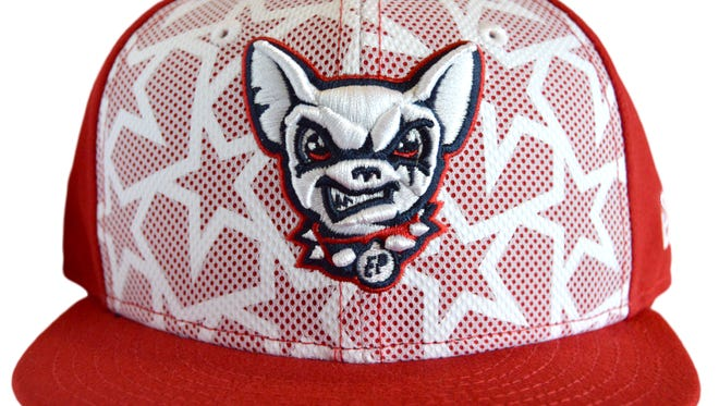 The El Paso Chihuahuas Stars and Stripes Cap.