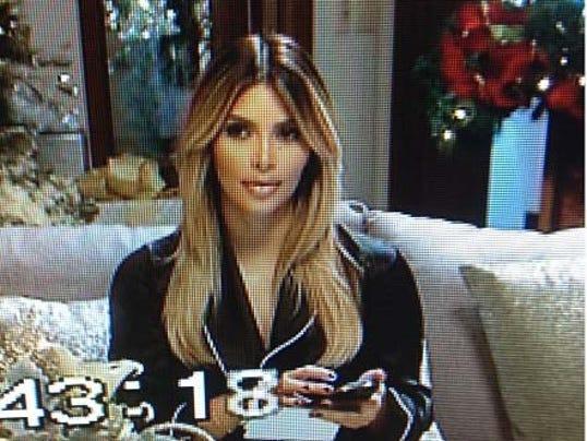 Kim Kardashian Christmas