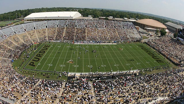 Crowds were too often sparse in West Lafayette this season.