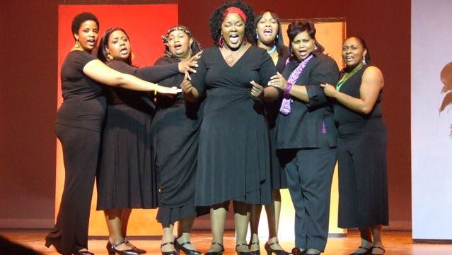 """The Mahogany Ensemble Theatre Company perform """"For Colored Girls..."""""""