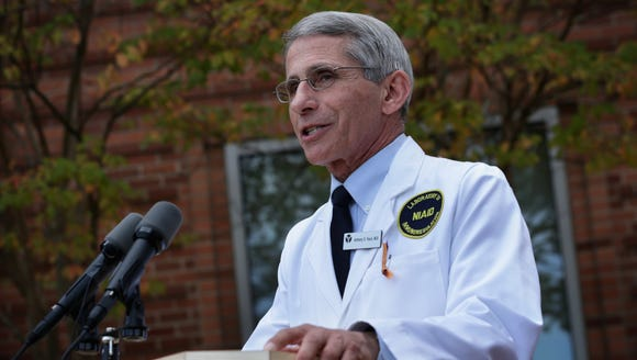 Anthony Fauci,  director of the National Institute