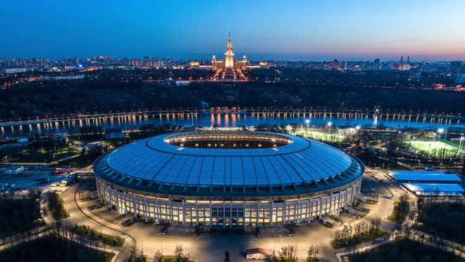 Luzhniki Stadium (Moscow) – Hosting the opening match and final