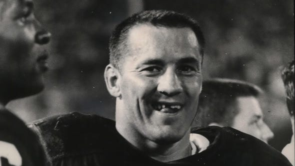 Jim Taylor was a standout fullback for the Green Bay