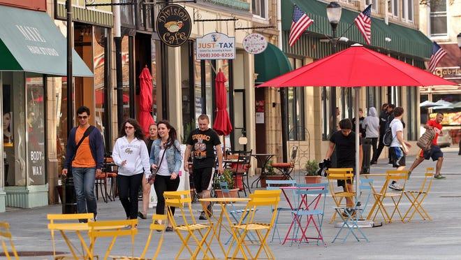Division Street in Somerville.
