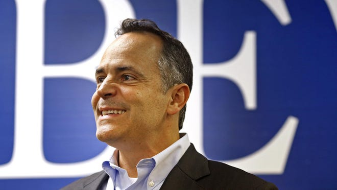 Matt Bevin became only the third Republican governor in the past 65 years in Kentucky.