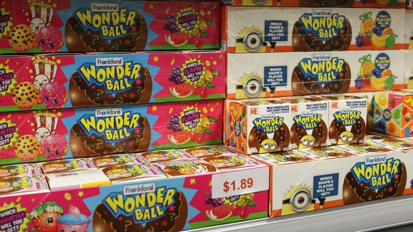 You can find a Wonder Ball, a candy cult favorite, at Sweeties Candy of Arizona in Chandler. Credit: Jennifer McClellan/azcentral.com