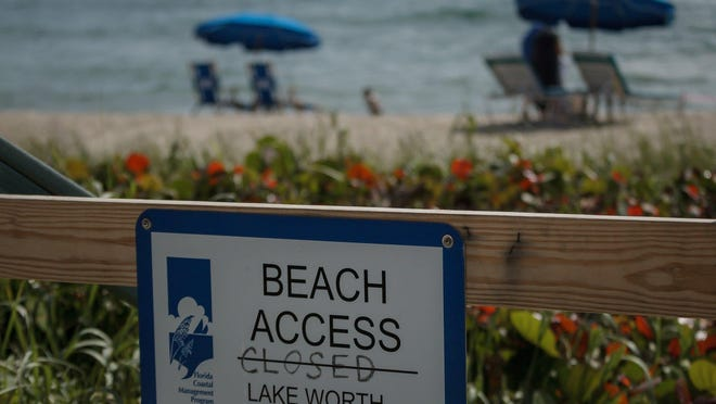 Closing the beach as the result of the coronavirus pandemic has resulted in more than $250,000 in lost parking revenue for the city.