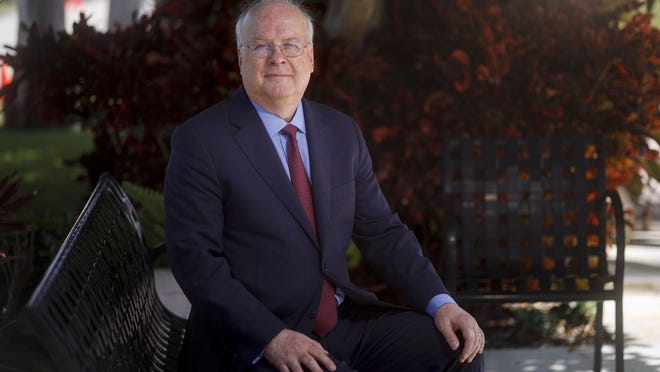 Republican political strategist Karl Rove spoke Tuesday at The Society of the Four Arts in Palm Beach.