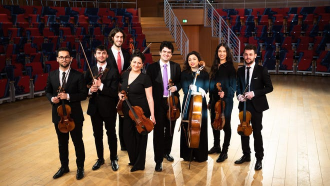 The West-Eastern Divan Ensemble, led by Michael Barenboim, lived up to its mission on Sunday at the Kravis Center.