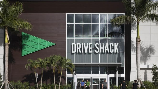 The Drive Shack on Belevedere Road in West Palm Beach, Florida on October 10, 2019   [GREG LOVETT / palmbeachpost.com}