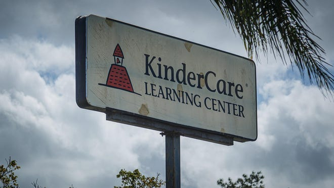 Kindercare in Greenacres, Fla., on Thursday, March 19, 2020.