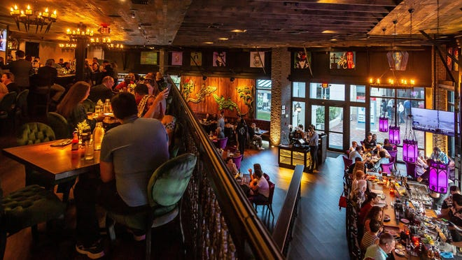 Voodoo Bayou at Downtown Palm Beach Gardens reopened Monday for in-person dining. It will operate at 25 percent capacity, and tables will be spaced six feet apart.