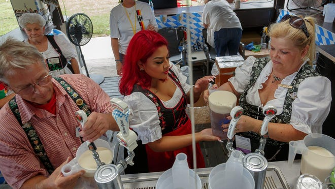 Oktoberfest 2019, sponsored by the German American Club of the Palm Beaches, was held last October for the 46th consecutive year. Event goers filled the club's grounds for music, games, food and drink.