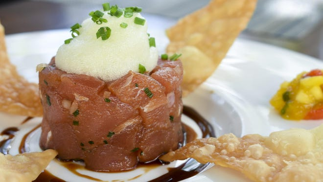 Meat Market's tuna tartare has been a favorite this summer.