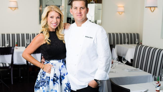 Aliza Byrne and Chef Matthew Byrne own and operate Kitchen restaurant in West Palm Beach.