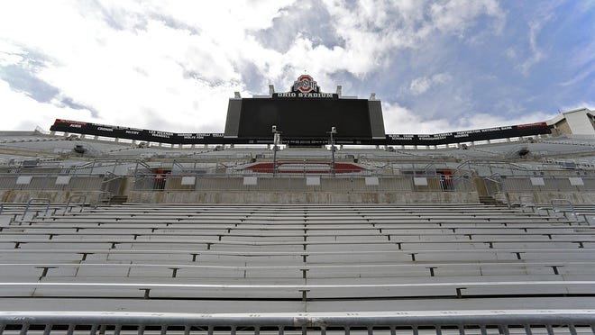 Ohio Stadium will sit empty this season after the Big Ten canceled fall sports.