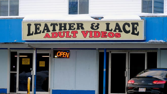 Leather and Lace on Lafayette Road in Seabrook is one of three stores operated by local businessman William Walsh, who plead not guilty Wednesday in federal court to a charge of distributing fake marijuana that resulted in a death.