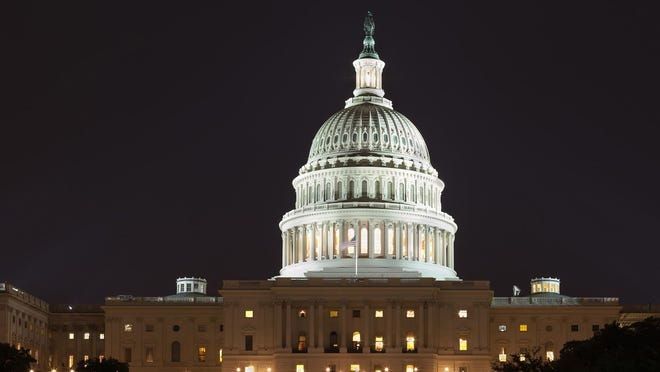 The U.S. Capitol building in Washington, D.C. Coronavirus relief programs are due to run out in the coming weeks and months.