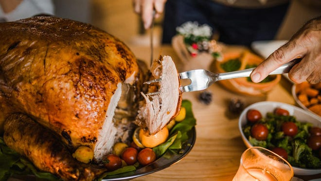 About 200 million pounds of turkey alone are thrown out after Thanksgiving according to Yvette Cabrera of the National Resources Council.